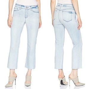 NEW NYDJ Raw Hem Marilyn Ankle Jeans Still Water